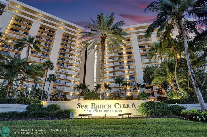 Photo of 5100 N Ocean Boulevard #911 & 913, Lauderdale By The Sea, FL 33308 (MLS # F10302774)