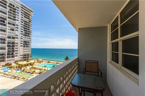 Photo of 4250 Galt Ocean Dr #8J, Fort Lauderdale, FL 33308 (MLS # F10283777)