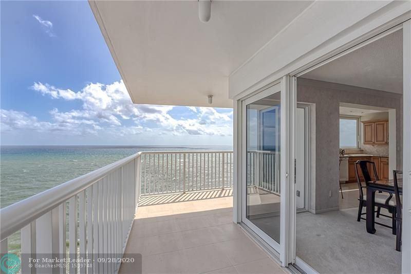 Photo of 1370 S Ocean Blvd #2208, Pompano Beach, FL 33062 (MLS # F10249777)