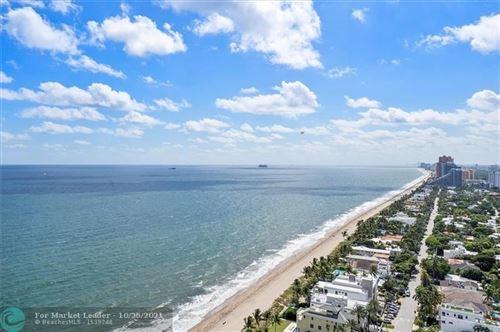 Photo of 3200 N Ocean Blvd #2704 PH, Fort Lauderdale, FL 33308 (MLS # F10305778)