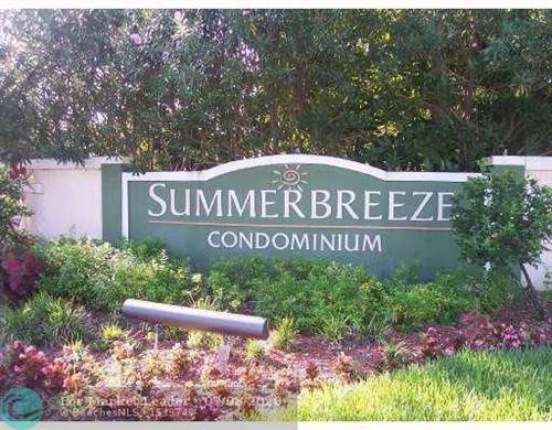 Photo of 9999 Summerbreeze Dr #1007, Sunrise, FL 33322 (MLS # F10236781)