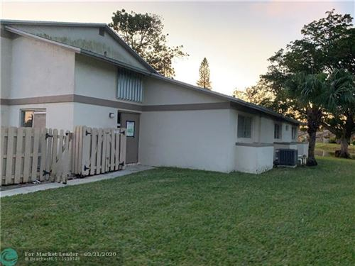 Photo of 10775 NW 29th Mnr #8, Sunrise, FL 33322 (MLS # F10217786)