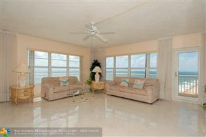Photo of 3850 Galt Ocean Dr #1401, Fort Lauderdale, FL 33308 (MLS # F10116788)