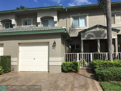 Photo of Listing MLS f10238788 in 7979 Exeter Blvd #102 Tamarac FL 33321