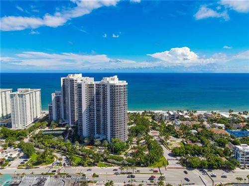 Photo of 3100 N Ocean Blvd #1802, Fort Lauderdale, FL 33308 (MLS # F10253788)