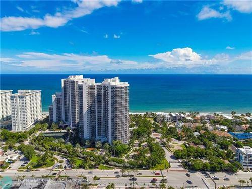 Photo of 3100 N Ocean Blvd #1802, Fort Lauderdale, FL 33308 (MLS # F10253788)