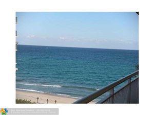 Photo of 1161 Hillsboro Mile #605, Hillsboro Beach, FL 33062 (MLS # F10013789)