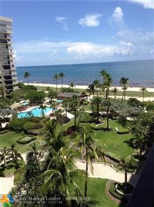 Foto de inmueble con direccion 5000 N OCEAN BLVD #706 Lauderdale By The Sea FL 33308 con MLS F10186791