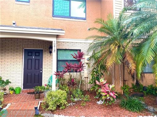 Photo of 10612 NW 6th St #10612, Pembroke Pines, FL 33026 (MLS # F10284791)