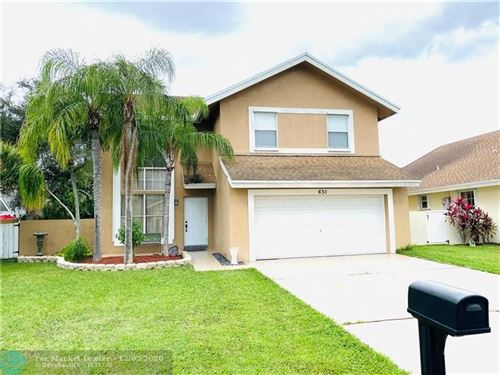 Photo of 630 NW 207th Ave, Pembroke Pines, FL 33029 (MLS # F10260792)