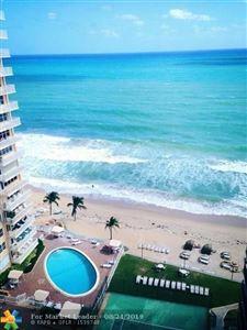 Photo of 3800 Galt Ocean Drive #1501, Fort Lauderdale, FL 33308 (MLS # F10190793)