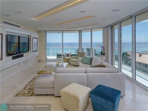 Photo of 6001 N Ocean Drive #505, Hollywood, FL 33019 (MLS # F10248794)