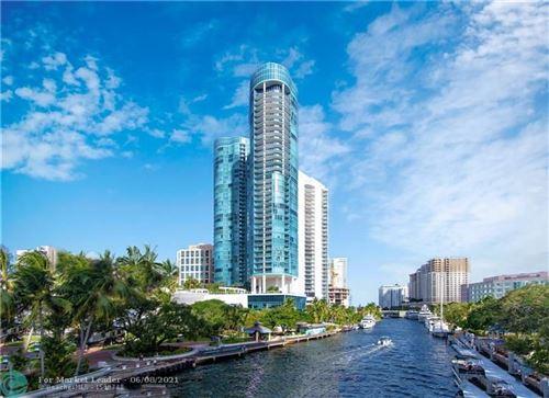Photo of 333 Las Olas Way #2502, Fort Lauderdale, FL 33301 (MLS # F10287795)