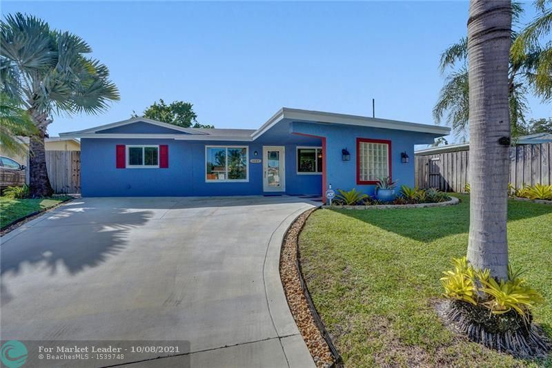 Photo of 4485 NW 16th Ave, Oakland Park, FL 33309 (MLS # F10303795)