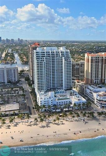 Photo of 101 S Fort Lauderdale Beach Blvd #2106, Fort Lauderdale, FL 33316 (MLS # F10254796)