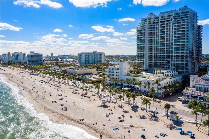 Photo of 101 S Fort Lauderdale Beach Blvd #1406, Fort Lauderdale, FL 33316 (MLS # F10270799)