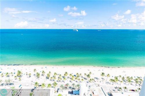 Photo of 101 S FT LAUD BCH BLVD #2803, Fort Lauderdale, FL 33316 (MLS # F10097800)