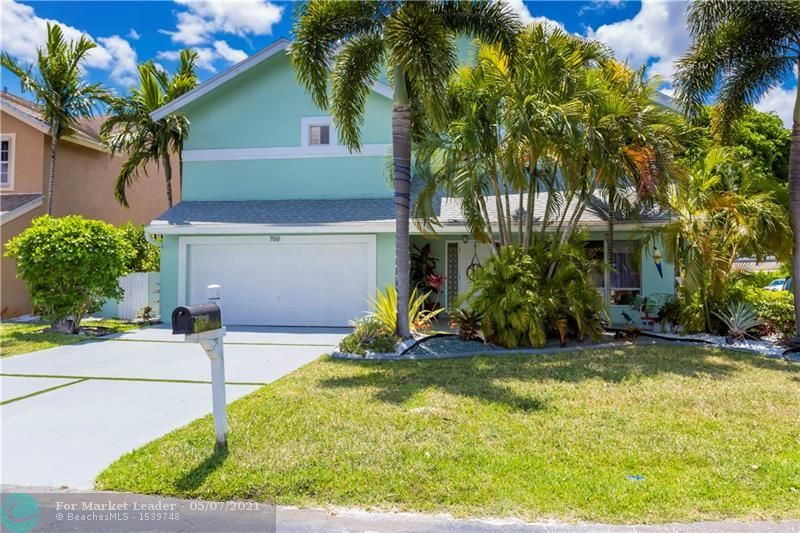 Photo of 750 NW 207th Ave, Pembroke Pines, FL 33029 (MLS # F10275800)