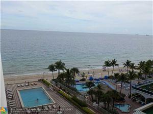 Photo of 4100 Galt Ocean Dr #807, Fort Lauderdale, FL 33308 (MLS # F10084801)