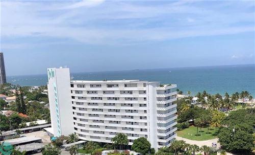 Photo of 2840 N Ocean Blvd #604, Fort Lauderdale, FL 33308 (MLS # F10180801)