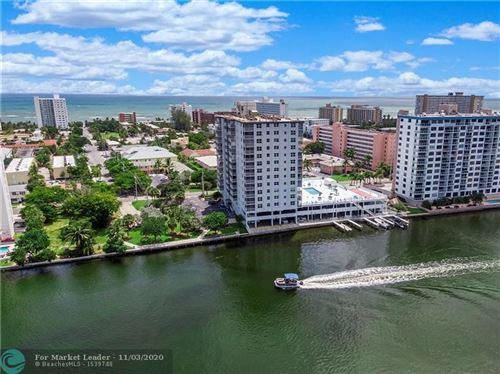Foto de inmueble con direccion 1505 N Riverside Dr #606 Pompano Beach FL 33062 con MLS F10245804