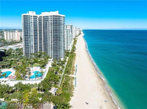 Photo of 3100 N Ocean Blvd #404, Fort Lauderdale, FL 33308 (MLS # F10291806)