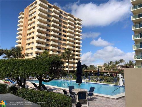 Photo of Listing MLS f10214807 in 1630 N Ocean Blvd #511 Pompano Beach FL 33062