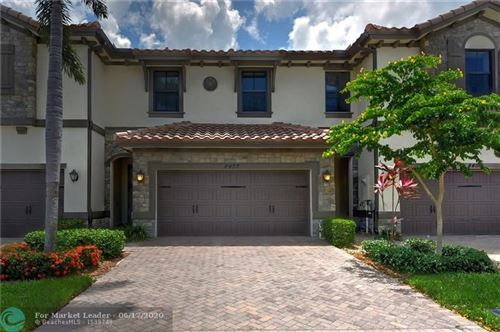 Photo of 8457 LAKEVIEW TRAIL #8457, Parkland, FL 33076 (MLS # F10233808)