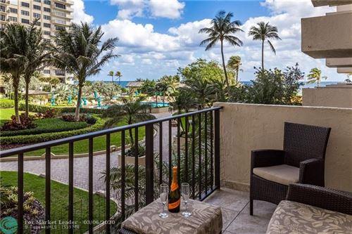 Photo of 4900 N Ocean Blvd #302, Lauderdale By The Sea, FL 33308 (MLS # F10219811)