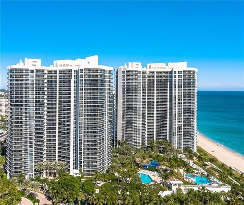 Photo of 3100 N Ocean Blvd #1003, Fort Lauderdale, FL 33308 (MLS # F10221811)