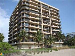 Foto de inmueble con direccion 1300 S Ocean Blvd #404 Pompano Beach FL 33062 con MLS F10192812