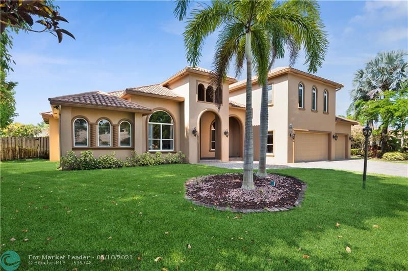 Photo of 11190 NW 2nd Mnr, Coral Springs, FL 33071 (MLS # F10283815)