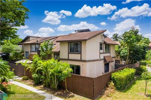 Photo of 2081 BAYBERRY DR #2081, Pembroke Pines, FL 33024 (MLS # F10236820)