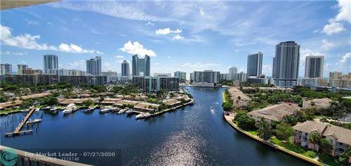 Photo of 300 Three Islands Blvd #615, Hallandale, FL 33009 (MLS # F10239821)