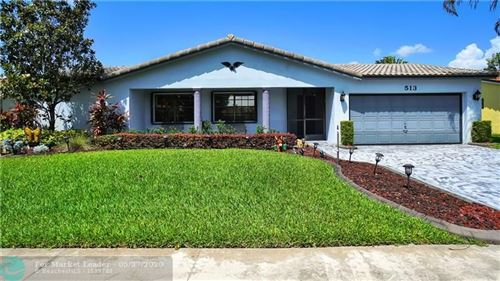 Photo of 513 NW 103rd Ave, Plantation, FL 33324 (MLS # F10216826)