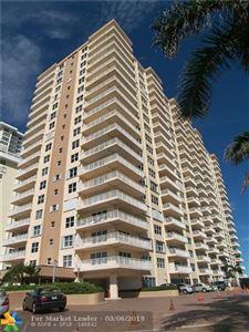 Photo of 3850 Galt Ocean Dr #1603, Fort Lauderdale, FL 33308 (MLS # F10164827)