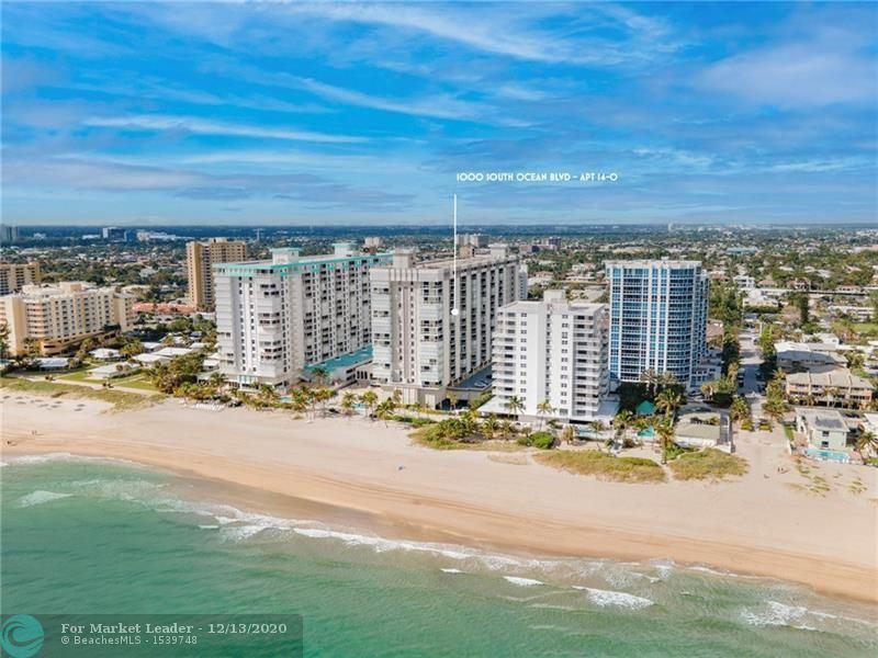 1000 S Ocean Blvd #14-O, Pompano Beach, FL 33062 - #: F10261827
