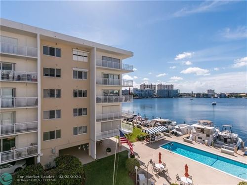 Photo of Listing MLS f10222829 in 120 Golden Isles Dr #42-B Hallandale FL 33009