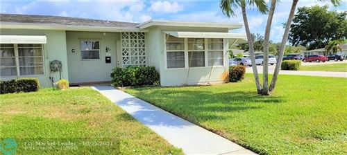 Photo of 665 High Point Dr #D, Delray Beach, FL 33445 (MLS # F10305832)