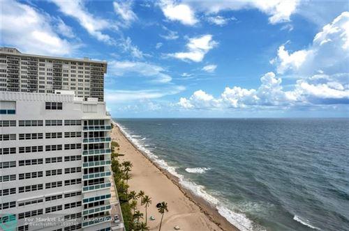 Photo of 3410 Galt Ocean Dr #1601N, Fort Lauderdale, FL 33308 (MLS # F10229838)