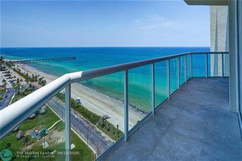 Photo of 6051 N Ocean Drive #PH4N, Hollywood, FL 33019 (MLS # F10242838)