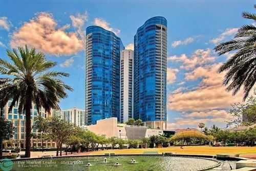 Photo of 333 Las Olas Way #1008, Fort Lauderdale, FL 33301 (MLS # F10282838)