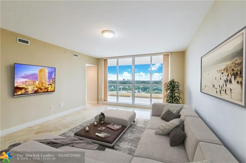 Photo of 411 N New River Dr E #1404, Fort Lauderdale, FL 33301 (MLS # F10160838)