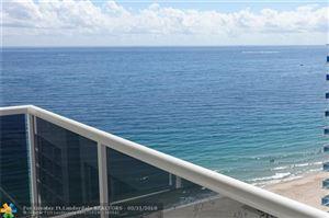 Photo of 3500 Galt Ocean Dr #1603, Fort Lauderdale, FL 33308 (MLS # F10102842)