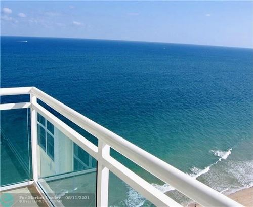 Photo of 3900 Galt Ocean Dr #1802, Fort Lauderdale, FL 33308 (MLS # F10216843)