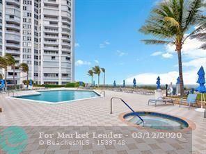 Photo of Listing MLS f10210852 in 5200 N Ocean Dr #1105 Riviera Beach FL 33404