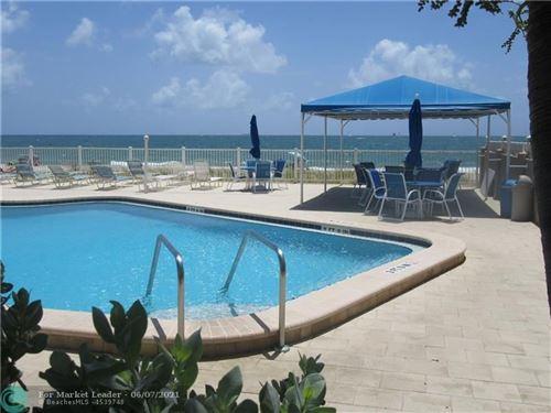 Photo of 4050 N Ocean Dr #1202, Lauderdale By The Sea, FL 33308 (MLS # F10287853)