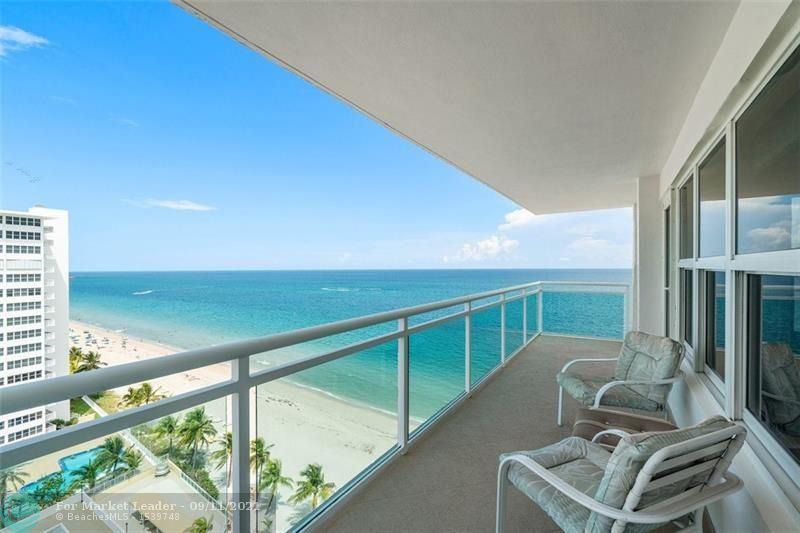 Photo of 3900 Galt Ocean Dr #1217, Fort Lauderdale, FL 33308 (MLS # F10299853)