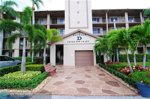 Photo of 13700 SW 14TH ST #301D, Pembroke Pines, FL 33027 (MLS # F10280856)