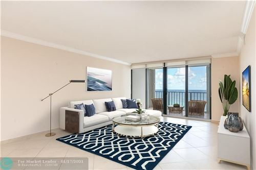 Photo of 2401 S Ocean Dr #2101, Hollywood, FL 33019 (MLS # F10266858)